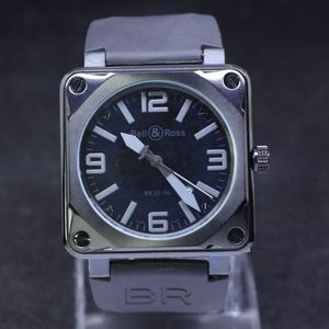Kopi Ure Bell & Ross BR 01-92 Heritage Watch [ed67]