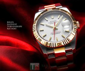 Kopie Uhren Rolex DATEJUSTTURN -O-Graph 116263A [71be]