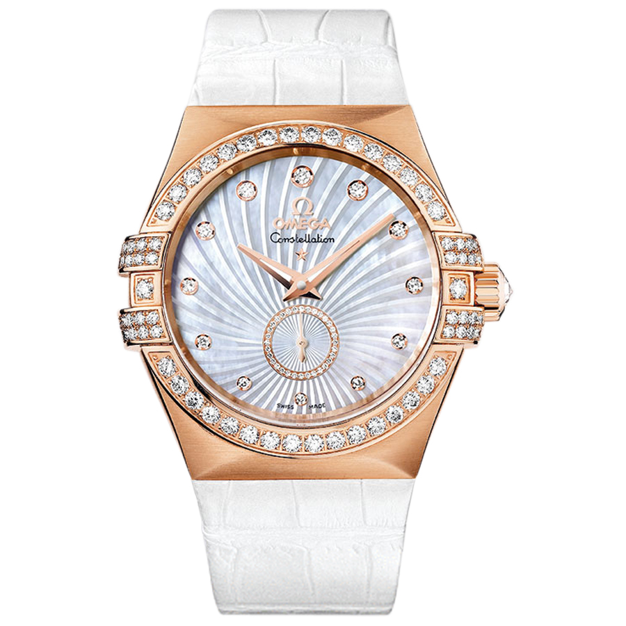 Replica Omega Watches Constellation Ladies 123.58.35.20.55.001 Automatic mechanical watches [8750]