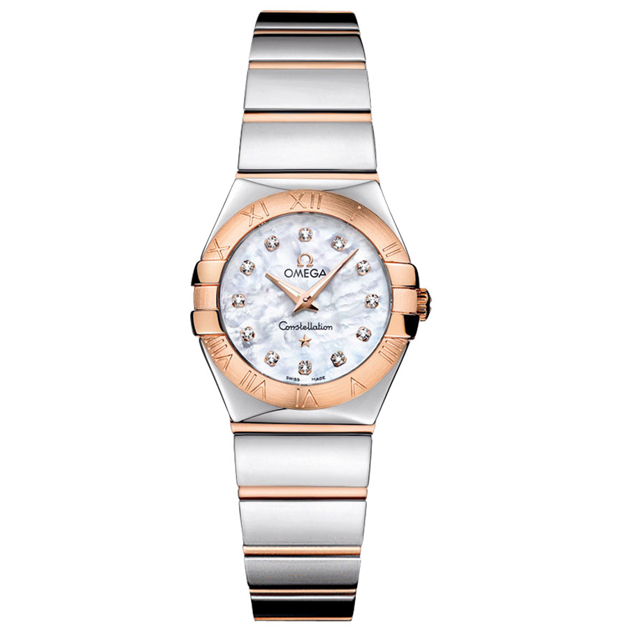 123.20.24.60.55.003 Replica Omega Watches Constellation Ladies Quartz watch [ef4b]
