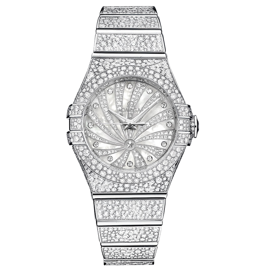 123.55.31.20.55.007 Replica Omega Watches Constellation Ladies Watch Automatic mechanical [9ee6]