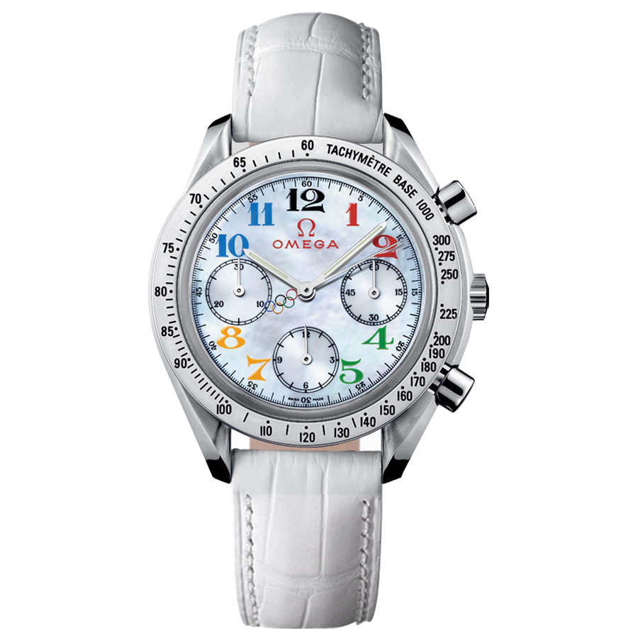 Omega Watches Replica Olympic Series Special Edition 3836.70.36 Ms. quartz watch [885e]