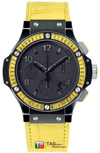 Copy Watches Hublot Big Bang Black Tutti Frutti Black lemon Unisex Watch 341. [eb41]