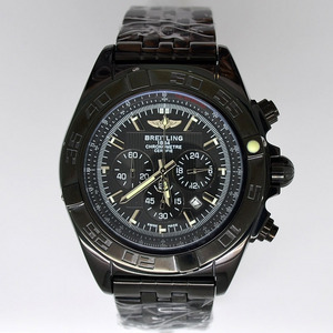 Copy Watches Breitling Chronomat B01 Certifie 1884 Black Bazel [0b7a]