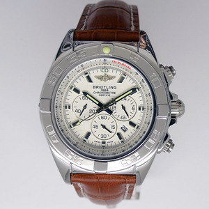 Copiar Breitling Chronomat B01 certifié 1884 Leather Strap [d24c]