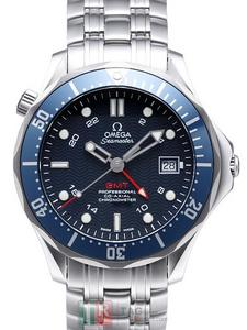 Copy Watches OMEGA SEAMASTER COLLECTION 300 CO-AXIAL GMT 2535.80 [76a1]