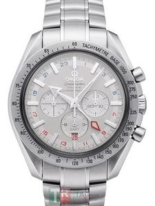 Kopie Uhren Omega Speedmaster Broad Arrow COLLECTION Co-Axial GMT 3.581,30 [2aea]