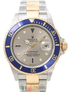 Copy Watches ROLEX SUBMARINERDATE 16613SG [78db]