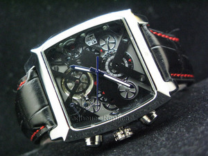 Copy Watches TAG HEUER Monaco V4 SKELETON AUTOMATIC-2 [a871]