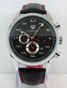 Copy Watches TAG Heuer Carrera Calibre 360 Black [390e]