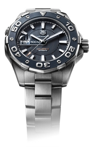 Copy Watches TAG Heuer aquaracer 500m calibre 5 diving watch(blue) [1196]