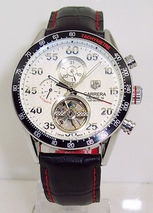 Copy Watches Tag Heuer Carrera CALIBRE 16 Tourbillon AUTOMATIC CHRONOGRAPH Watch [b31f]
