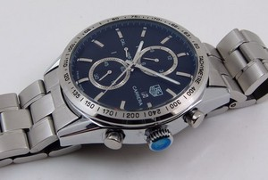 Copy Watches Tag Heuer Carrera CALIBRE 1887 AUTOMATIC CHRONOGRAPH Blue [1c27]