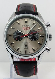Copy Watches Tag Heuer Carrera Calibre 17 Automatic Chronograph Jack Heuer Edition Gray [5deb]