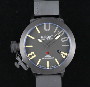 Kopier Ure U-Boat U 1001 Limited Edition Titanium Watch [10fa]