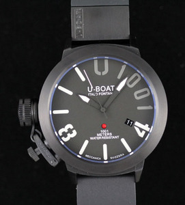 Kopier Ure U-Boat U 1001 Limited Edition Titanium Watch [6a29]