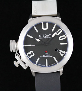 Copy Watches U-Boat U 1001 Limited Edition white gold Watch [cc4a]