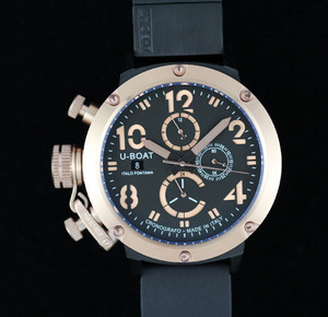 Copy Watches U-Boat U-51 Automatic Chronograph Bronze Chimera [55fa]