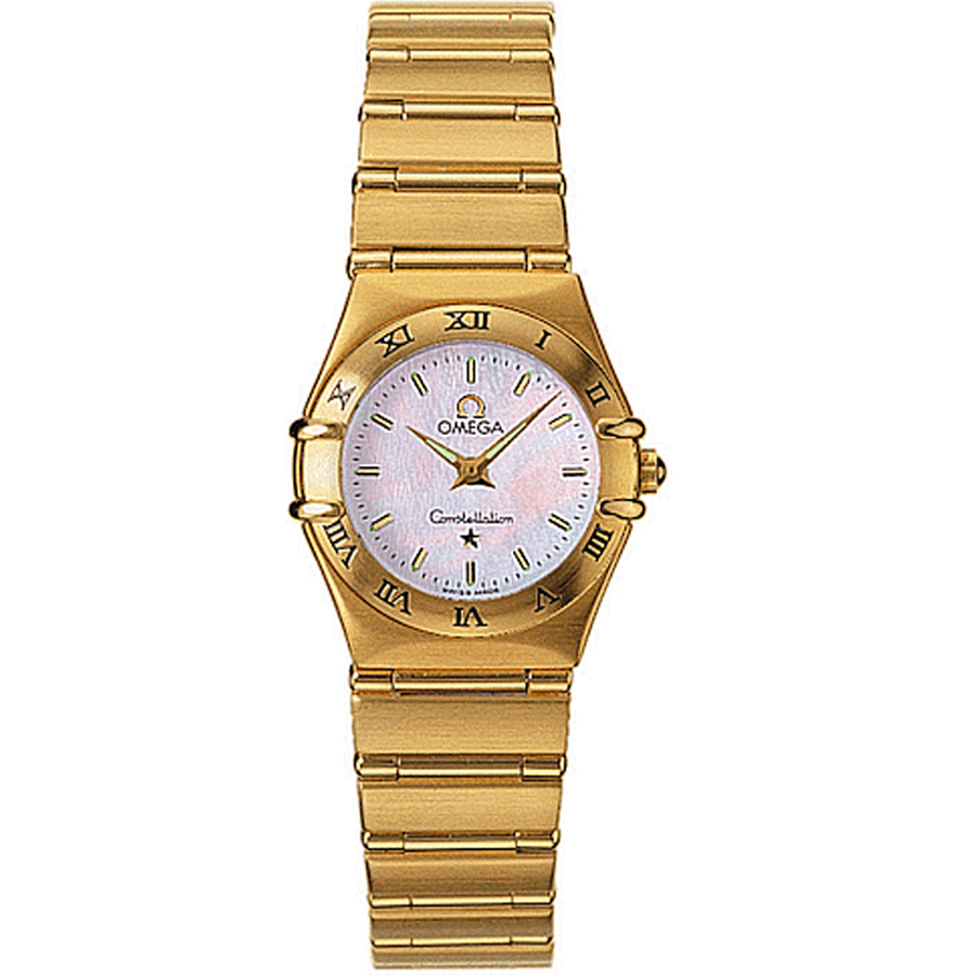 1162.70.00 Replica Omega Watches Constellation Ladies Quartz watch [e1ee]