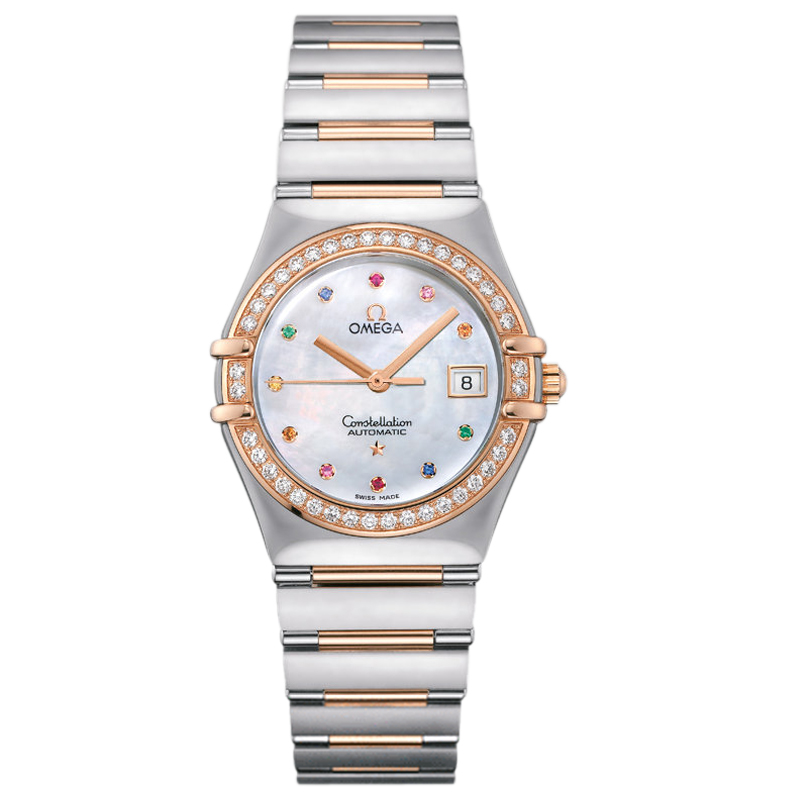 1395.79.00 Replica Omega Watches Constellation Ladies automatic mechanical watches [48f1]