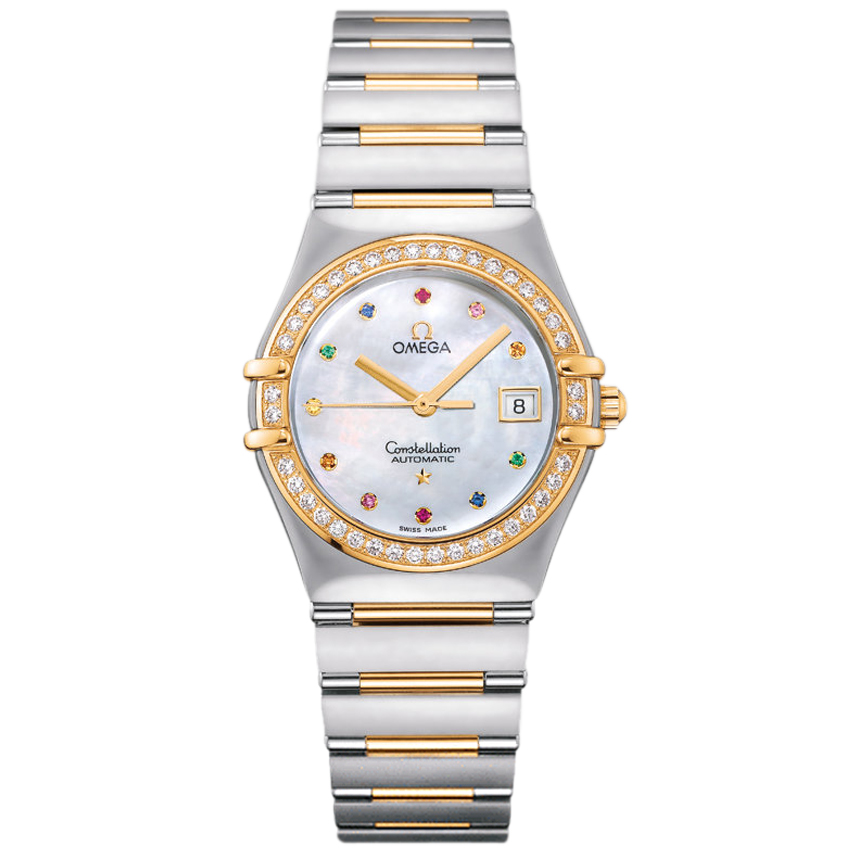 1396.79.00 Replica Omega Watches Constellation Ladies automatic mechanical watches [0bdb]