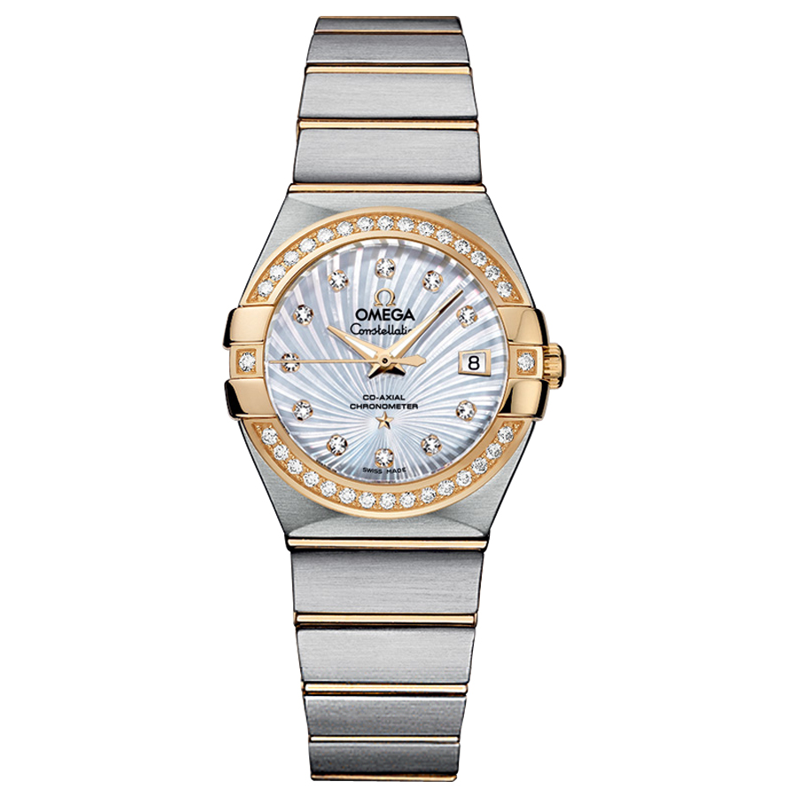 Replica Omega Watches Constellation Ladies 123.25.27.20.55.002 Automatic mechanical watches [7087]