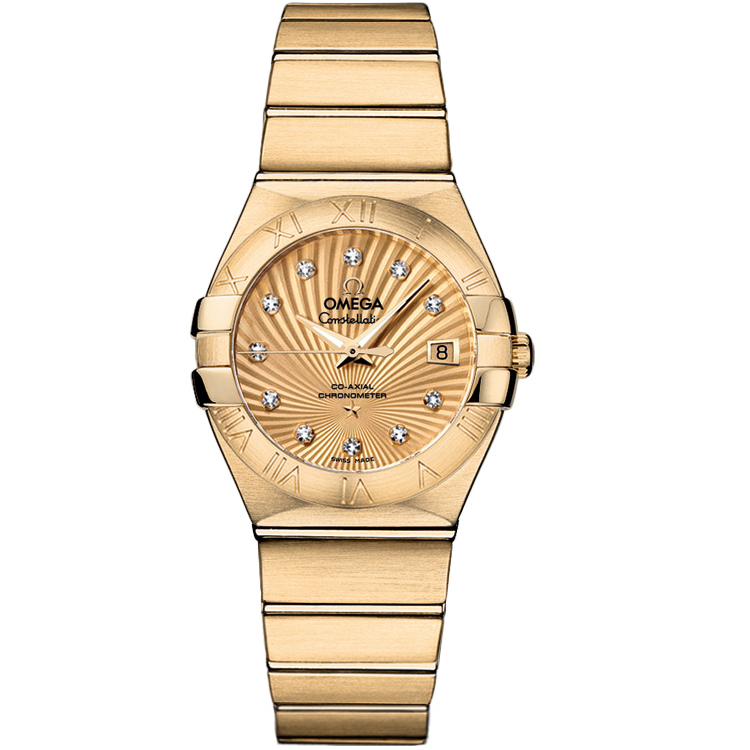Replica Omega Watches Constellation Ladies 123.50.27.20.58.001 Automatic mechanical watches [4a87]