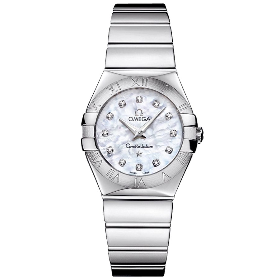 Quartz 123.10.27.60.55.002 Replica Omega Watches Constellation Ladies Watch [d22a]