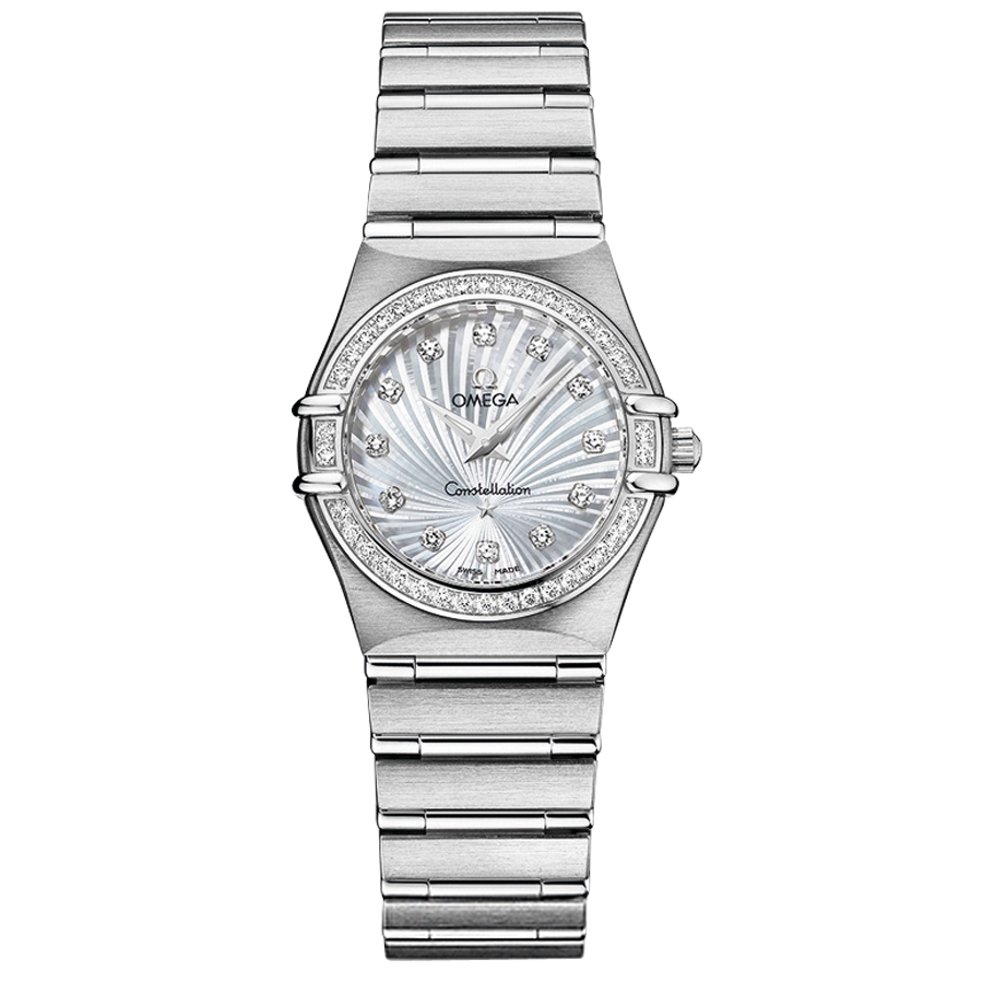 111.15.26.60.55.001 Replica Omega Watches Constellation Ladies Quartz watch [70b4]