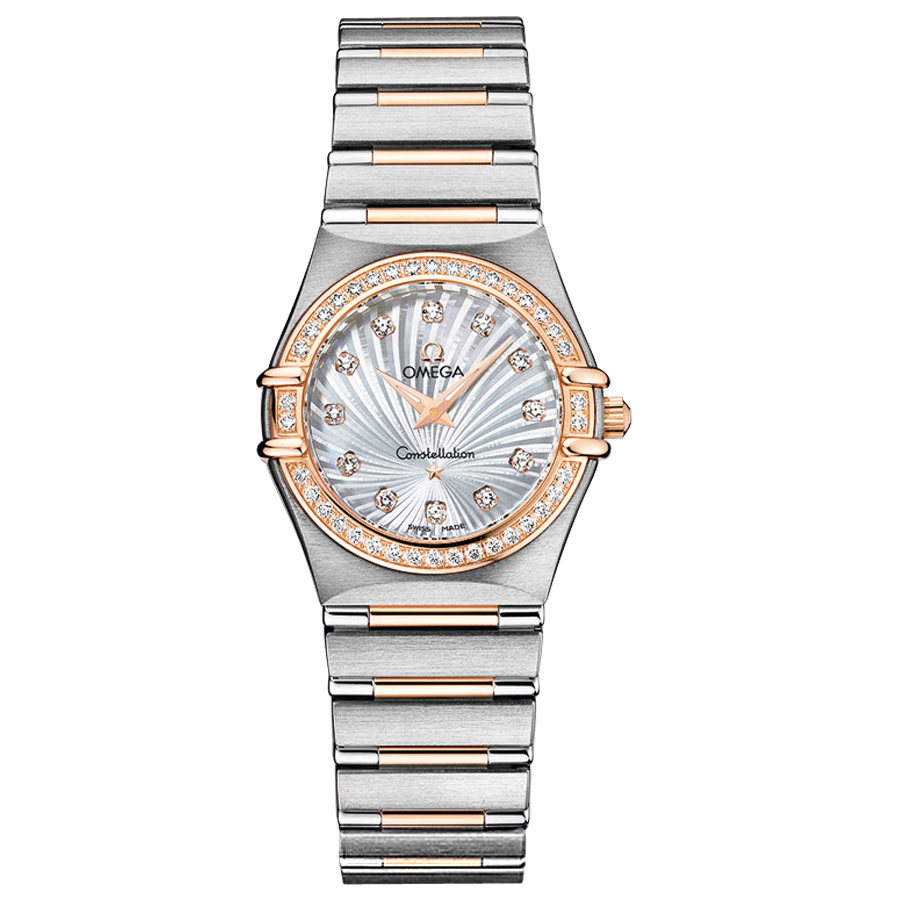 111.25.26.60.55.001 Replica Omega Watches Constellation Ladies Quartz watch [9769]