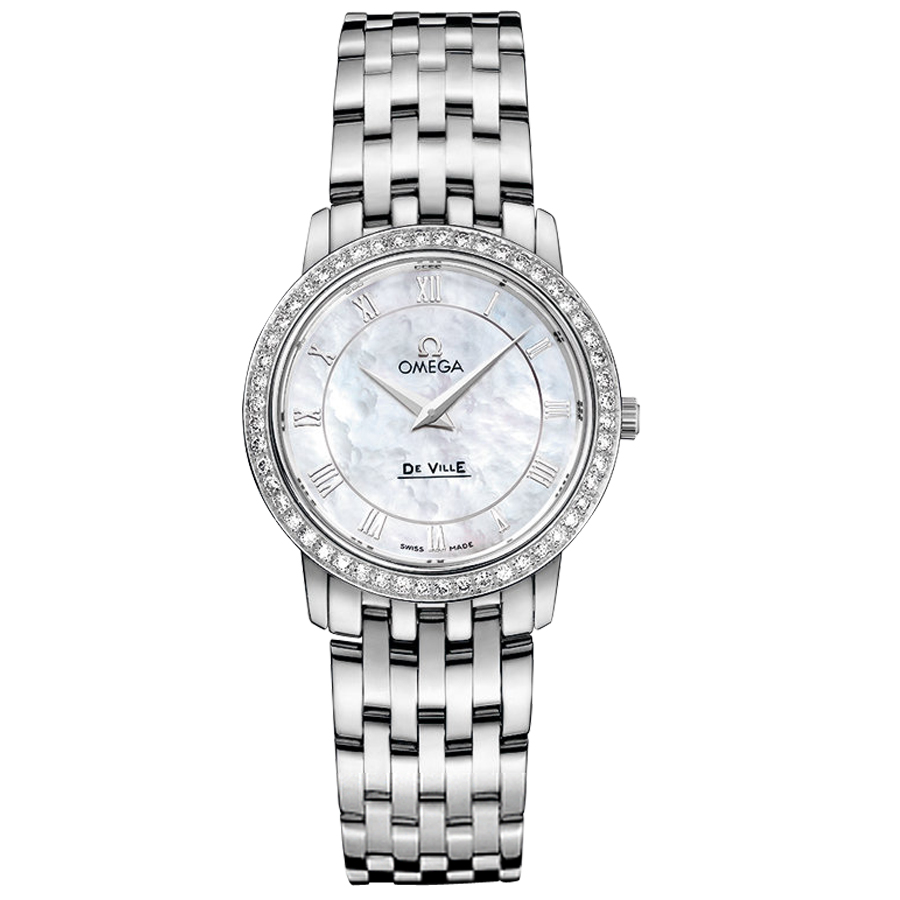 Omega Watches Replica De Ville 413.15.27.60.05.001 Ladies quartz watch [7e0d]