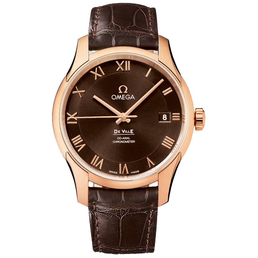 Omega Watches Replica De Ville 431.53.41.21.13.001 men's automatic mechanical watches [f5aa]