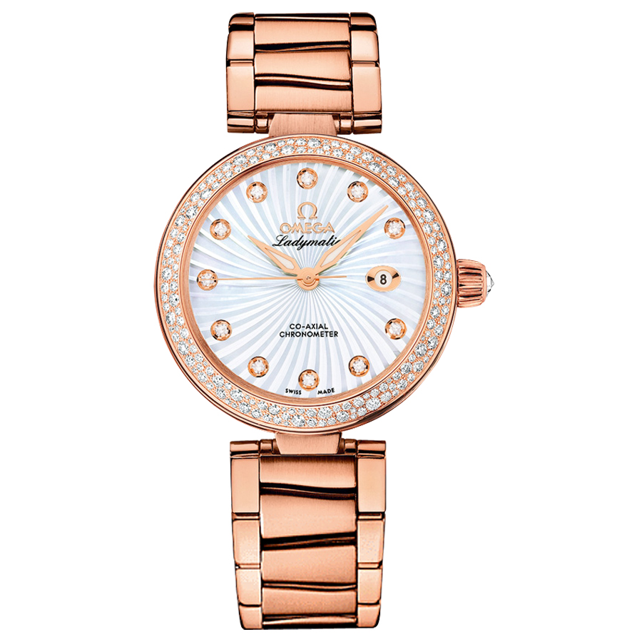 Omega Watches Replica De Ville Ladymatic 425.65.34.20.55.001 Ladies automatic mechanical watches [cdc9]