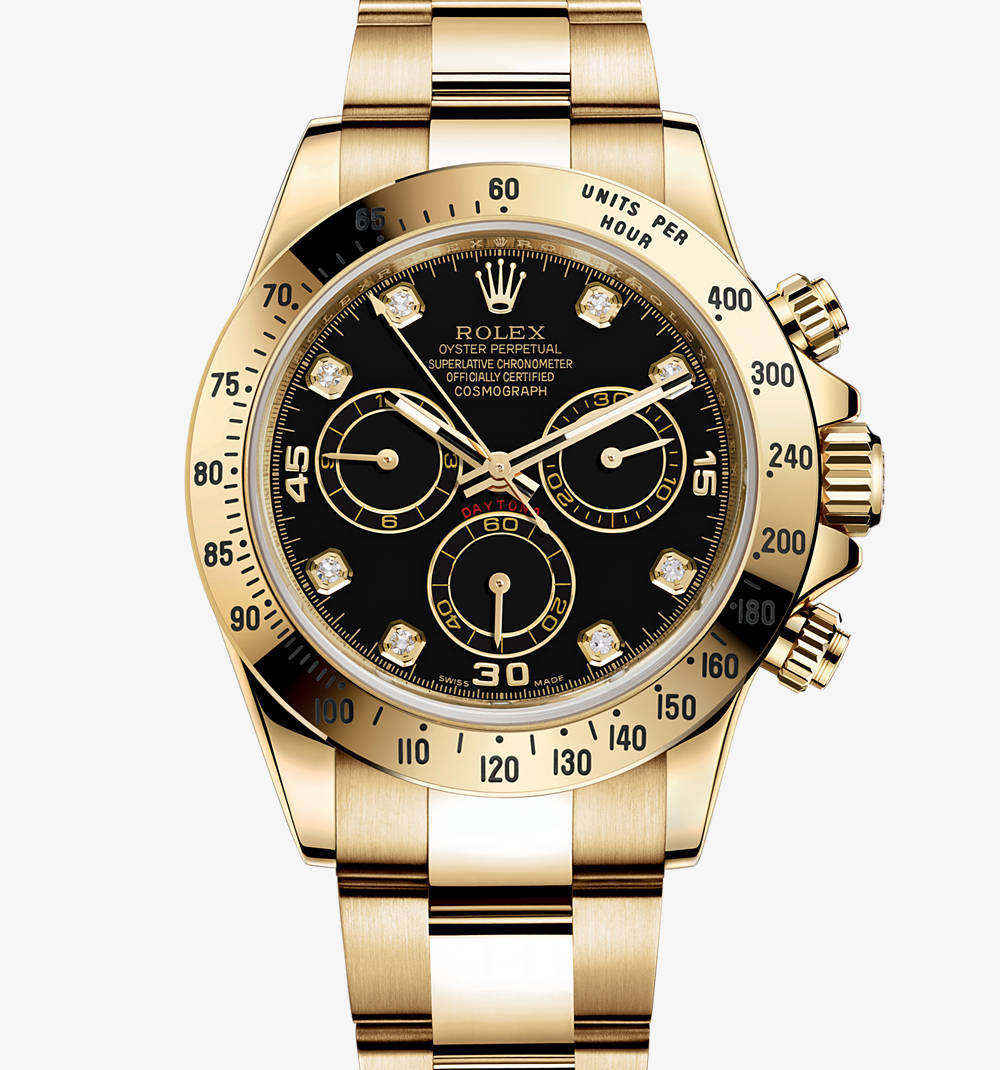 Replica Rolex Cosmograph Daytona Watch: 18 ct yellow gold – M116528-0031 [1f43]