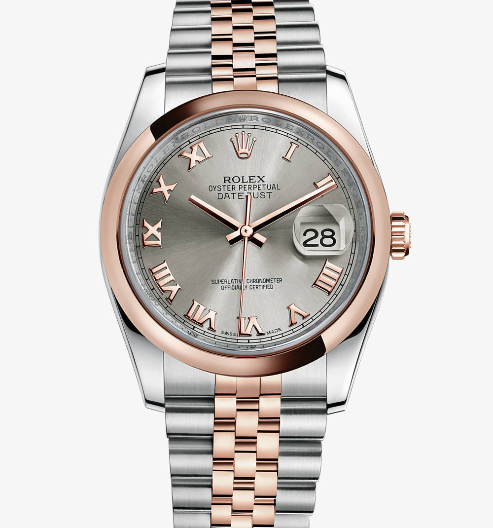 Replica Rolex Datejust Watch: Everose Rolesor - combination of 904L steel and 18 ct Everose gold – M116201-0071 [3a5a]