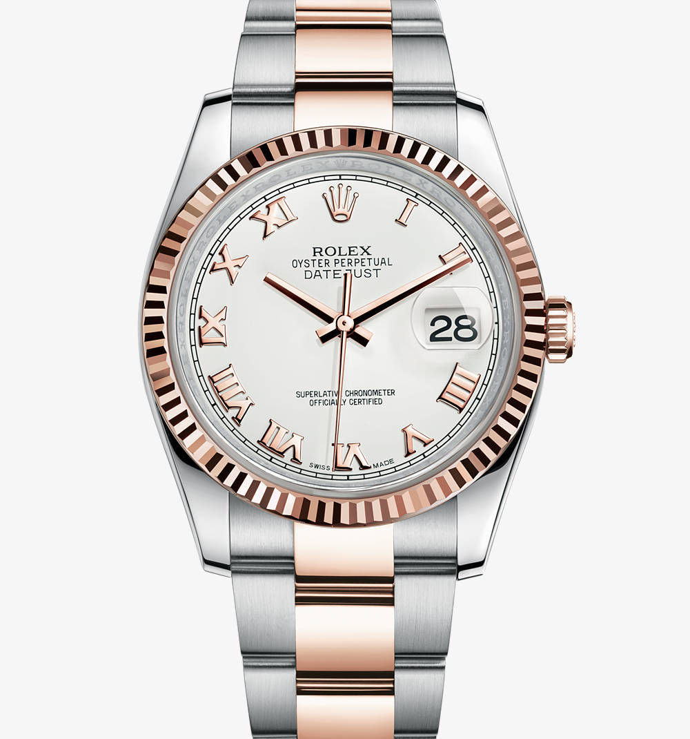Replica Rolex Datejust Watch: Everose Rolesor - combination of 904L steel and 18 ct Everose gold – M116231-0092 [8935]