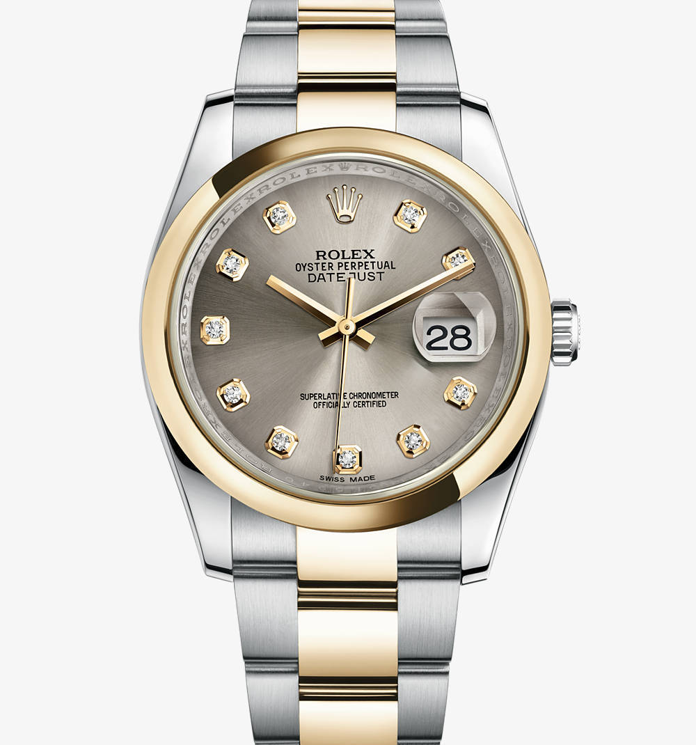Replica Rolex Datejust Watch: Yellow Rolesor - combination of 904L steel and 18 ct yellow gold – M116203-0138 [b6c4]