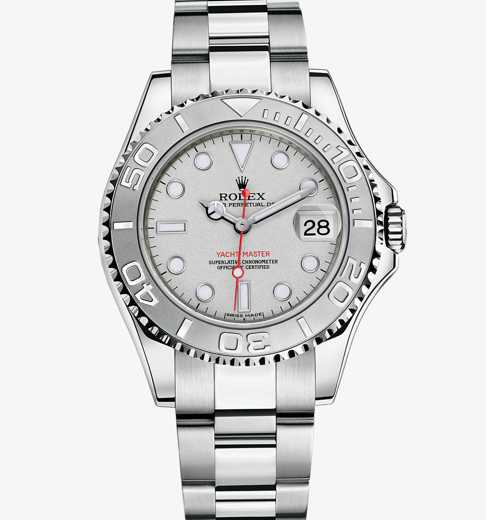 Replica Rolex Yacht-Master Watch: Rolesium - combination of 904L steel and platinum – M168622-0004 [9a97]