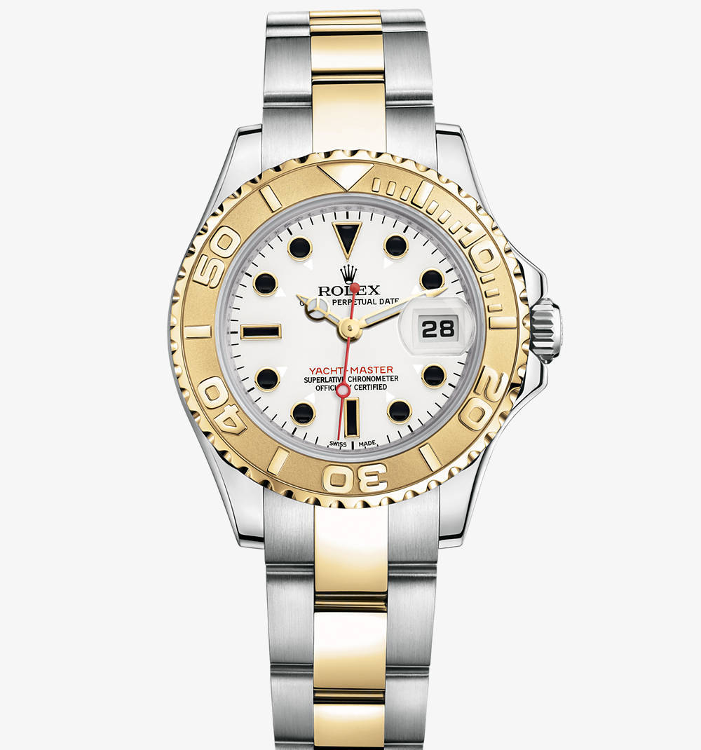 Replica Rolex Yacht-Master Watch: Yellow Rolesor - combination of 904L steel and 18 ct yellow gold – M169623-0007 [75c7]
