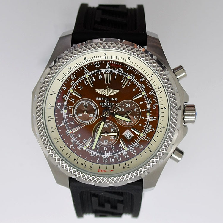Copy Watches Breitling Bentley Motors T Rubber Strap [b37f]