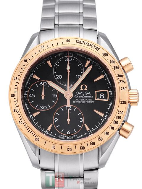 Copy Watches OMEGA SPEEDMASTER COLLECTION DATE 323.21.40.40.01.001 [a528]