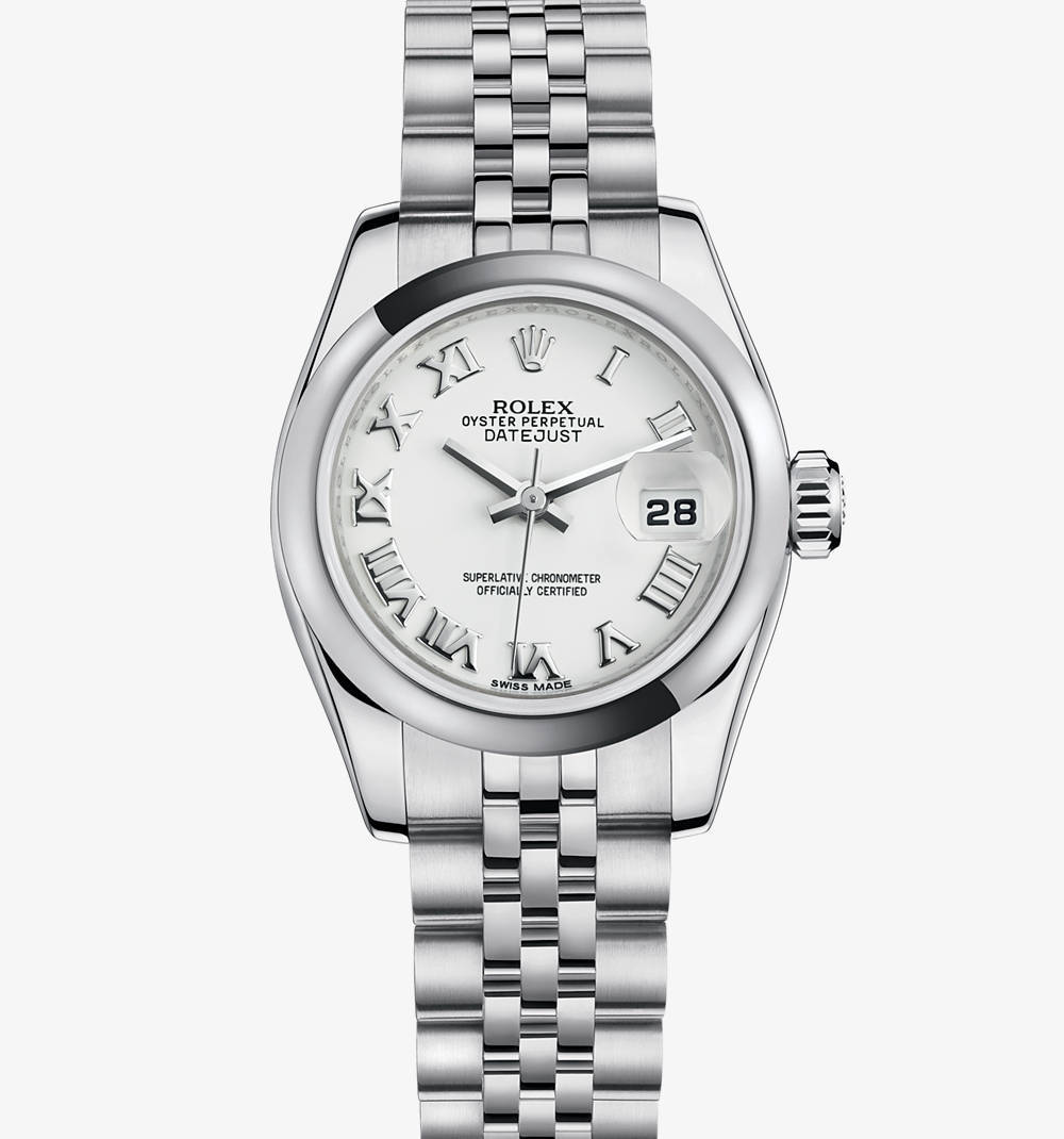 Replica Rolex Lady- Datejust Watch : 904L stГҐl - M179160-0041 [659d]